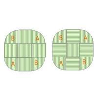 畳 へりなし カラー東レ敷楽彩美 オレンジ5枚+アップルグリーン4枚 楕円形セット|okitatami|04