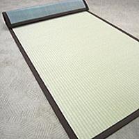 ロール畳 い草風 セキスイロール畳 900mm×5m へりつき 引き目タイプグリーン|okitatami