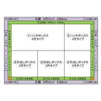 畳 ボックス 収納 高床 ユニット パナソニック NEW 畳が丘 3畳アイランドタイプ 3 ハッチ・引出しタイプ 送料無料|okitatami|02