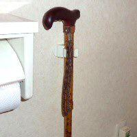 杖ホルダー つえポンRタイプ 標準型 10個セット|okitatami