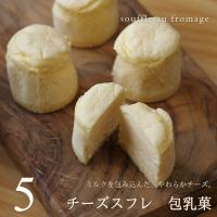 スフレ チーズケーキ スイーツ ギフト 包乳菓(ほうにゅうか) 5個入り アーリバード 広島 お試し お祝い 内祝 お返し 誕生日 ホワイトデー
