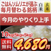 ※精選玄米のお届け袋は、透明の袋でのお届けとなります。  【白米・玄米セット】お米 島根県産 きぬむ...