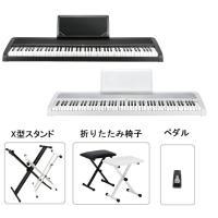 KORG B1  【セット内容】 1.本体 2.X型スタンド 3.折りたたみ椅子 4.その他(ペダル...