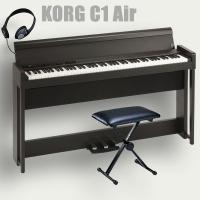 楽器の総合デパート オクムラ楽器 - KORG 電子ピアノ C1 Air BR コルグ 椅子 ヘッドホン付|Yahoo!ショッピング