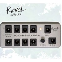 RevoL effects DC POWER SUPPLY EPS-01  最大8台の9VDC電源を...