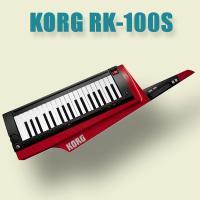 KORG RK-100S RD KEYTAR  ■自由な演奏が可能なキーボード。  ■美しい光沢塗装...