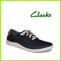 クラークスジャパン Clarks Mapped Edge コンフォートメンズシューズ ●ブラック ●...
