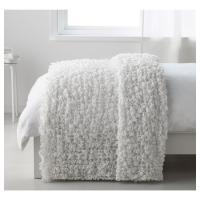 IKEA 毛布  OFELIA ホワイト 601.738.56