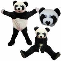 お子様に人気があるパンダの着ぐるみです。  背中にファスナーがあります。 モデル身長175cm  セ...