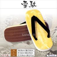 品質:表=ビニール,底=スポンジ サイズ:M=巾9.5cm,長さ24cm/L=巾10cm,長さ25c...