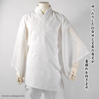 品質:身頃 綿100%(抗菌さらし天竺)/ 袖、半衿 ポリエステル100%(抗菌壁絽) サイズ:M/...