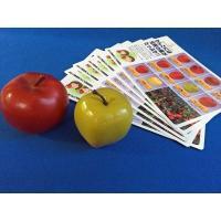 商品は、  青森りんごセットです。     (1)ふじリンゴ(食品サンプル) 、 (2)王林(食品サ...