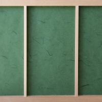 障子紙 おしゃれ インテリア障子紙 カラー和紙 深緑 大直