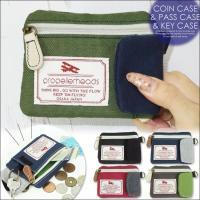 ・便利な3in1コインケース新登場☆ ・ポケットにさっと収まるコンパクトサイズ◎ ・ファスナー付きだ...