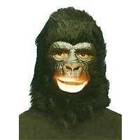 U1 黒猿 かぶりもの コスチューム コスプレ ジョーク パーティーグッズ ハロウィン 衣装 宴会 動物ヘッド