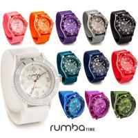 ロレックスフェイスのアナログ式腕時計☆ スラップ式の時計なので、身につける時も外す時も簡単! メディ...