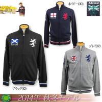 ◎・アドミラルゴルフ Admiral GOLF メンズ 2015年秋冬新作  FLAG FZニット1...