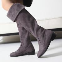 ロングブーツ ブーツ レディース 秋 冬 ファッション 靴 婦人靴 太ヒール ローヒール チャンキー...
