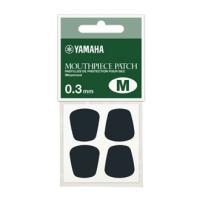 ヤマハ マウスピースパッチ Mサイズ 0.3mm クラリネット、サクソフォンのマウスピースに貼付して...