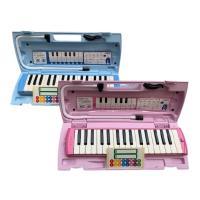 当店オリジナルドレミシール付き!4台セット販売です。 ブルーとピンクで色をご指定下さい。 音域も広く...