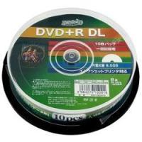 記録回数:一回のみ   記録容量:片面2層 8.5GB  記録速度:8倍速   入り数:10枚   ...