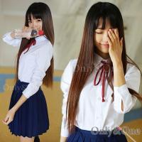 セーラー服 コスプレ 女子高生 制服 コスチューム 衣装  平置きで採寸の為多少誤差があります&lt...