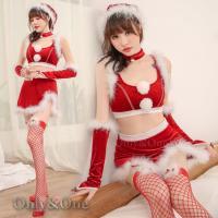 コスプレ コスチューム サンタ  衣装 クリスマス パーティー  【平置きで採寸の為多少の誤差があり...