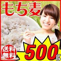 もち麦 大麦 もちむぎ 北米産  500g×1袋  βグルカン 送料無料  ※稀にもち麦以外の穀物や...