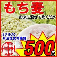 もち麦  セール スーパーフード もちむぎ 北米産  500g×1袋  βグルカン 送料無料  【メ...