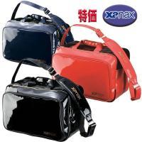 BA-G801 ザナックス エナメル セカンドバッグ XL