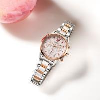 セイコー ルキア SSVS044 レディース 腕時計 2020 SAKURA Blooming 限定モデル ピンクゴールド SEIKO クロノグラフ ソーラー 新品|oomoritokeiten|05