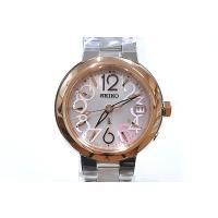 セイコー ルキア レディース 腕時計 SSVW018 ピンクゴールド SEIKO ソーラー電波時計 新品|oomoritokeiten|02