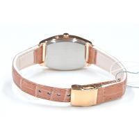 セイコー ルキア レディース 腕時計 SSVW032 ピンクゴールド ワニ革バンド SEIKO ソーラー電波時計 新品|oomoritokeiten|04