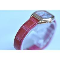 セイコー ルキア SSVW144 レディース 腕時計 SAKURA Blooming 2019年 限定モデル ピンクゴールド ワニ革バンド SEIKO ソーラー電波時計 新品 oomoritokeiten 02