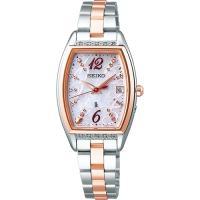 セイコー ルキア レディース 腕時計 SSVW150 ピエール・エルメ プロデュース 限定モデル ピンクゴールド SEIKO ソーラー電波時計 新品|oomoritokeiten
