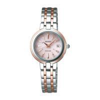 セイコー エクセリーヌ SWCW018 レディース 腕時計 ダイヤモンド文字盤 SEIKO ソーラー電波時計 新品|oomoritokeiten