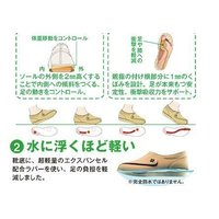 快歩主義L011 グレー 健康・快適シリーズNo,1 ブランドASAHI もっと元気になれる靴