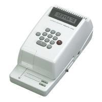 ●手形・領収書・小切手を発行する電子タイプのチェックライターです。 ●電卓感覚で金額を入力し、発行ボ...