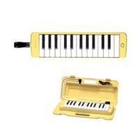 25鍵・鍵盤長80mm・重量530g・クリームイエロー・ハードケース、吹き口、卓奏用パイプ付  税別...