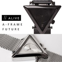 ALIVE ATHLETICS アライブ アスレティックス A-Frame A-フレーム 時計 腕時...