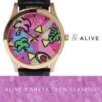 "ALIVE ATHLETICS アライブ アスレティックス ALIVE X SHETA ""80's ..."