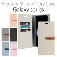 Mercury Milano Diary Case 手帳型 ケースカバー GalaxyNote8 G...
