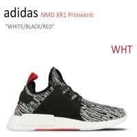 【送料無料】adidas NMD XR1 Primeknit/WHITE/BLACK/RED【アディ...