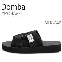 ドンバ サンダル DOMBA メンズ レディース MOHAVE モハーヴェ All BLACK オー...