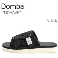 ドンバ サンダル DOMBA メンズ レディース MOHAVE モハーヴェ BLACK ブラック F...