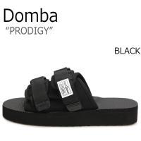 ドンバ サンダル DOMBA メンズ レディース PRODIGY プロディジー All BLACK ...