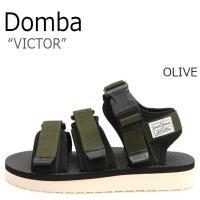 ドンバ サンダル DOMBA メンズ レディース VICTOR ビクター OLIVE オリーヴ F-...
