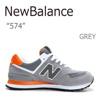 【送料無料】New Balance 574 Grey/Orange【ニューバランス】【ML574CP...