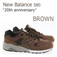 【送料無料】New Balance 580/ブラウン【ニューバランス】【MRT580KB】   デビ...