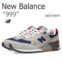 【送料無料】New Balance 999/GREY/NAVY【ニューバランス】【ML999AE】 ...